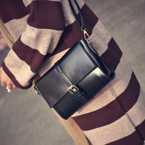 Túi da nữ vuông cho người đi làm